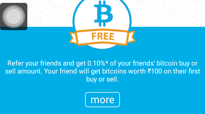 "Zebpay Promo Code – Zebpay Referral Code ""REF30832940"" – Free Bitcoin Worth INR 100"