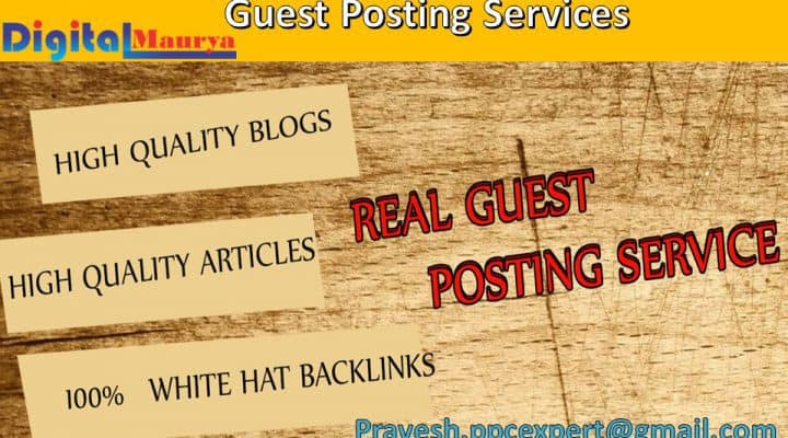 Guest Posting Service | Boost Your SEO with Guest Post‎