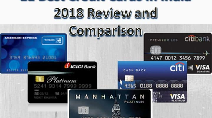 11 Best Credit Cards In India 2018 Review and Comparison