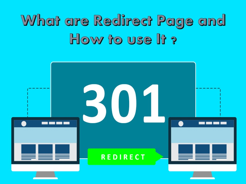 What are Redirect Page and How to use it?