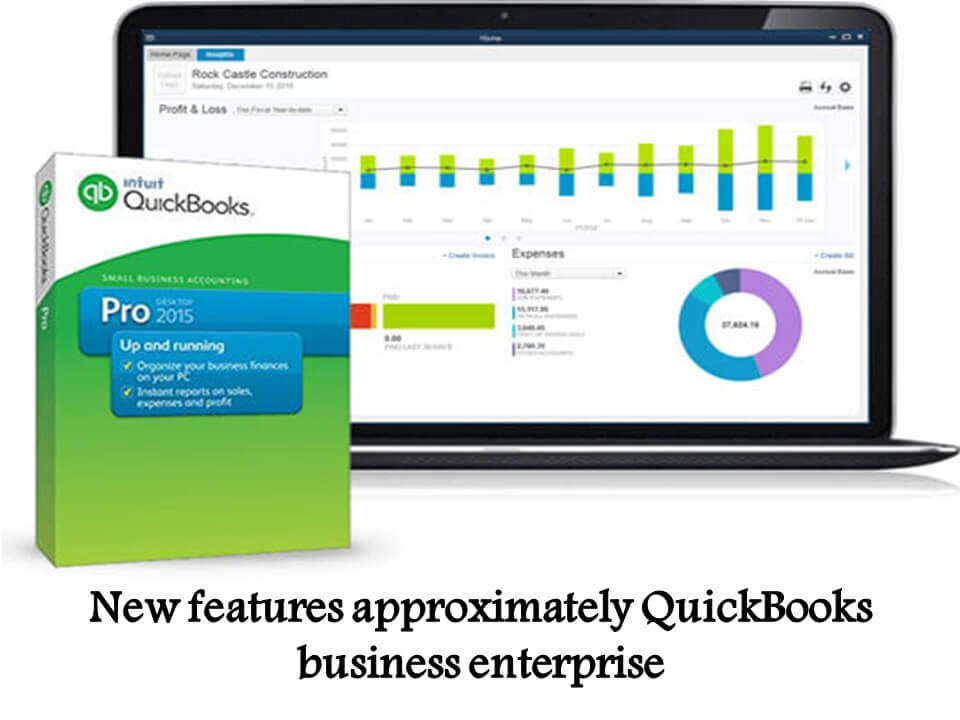New features approximately QuickBooks business enterprise