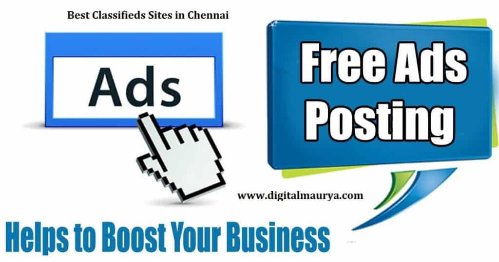 Best 50+ Chennai Classifieds Sites
