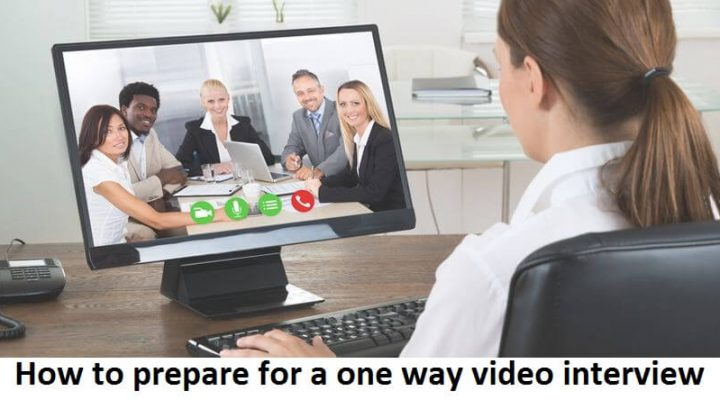 How to prepare for a one way video interview