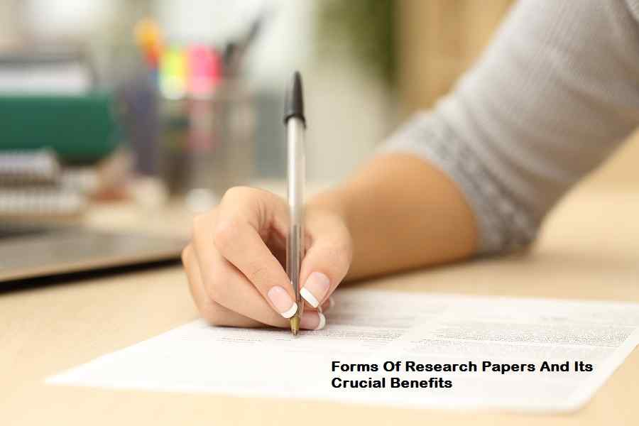 Forms Of Research Papers And Its Crucial Benefits